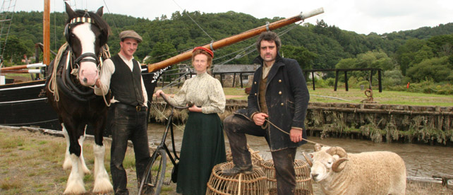 Edwardian Farm at Morwellham Quay - 12 episodes showing on BBC 2 every Wednesday at 8pm